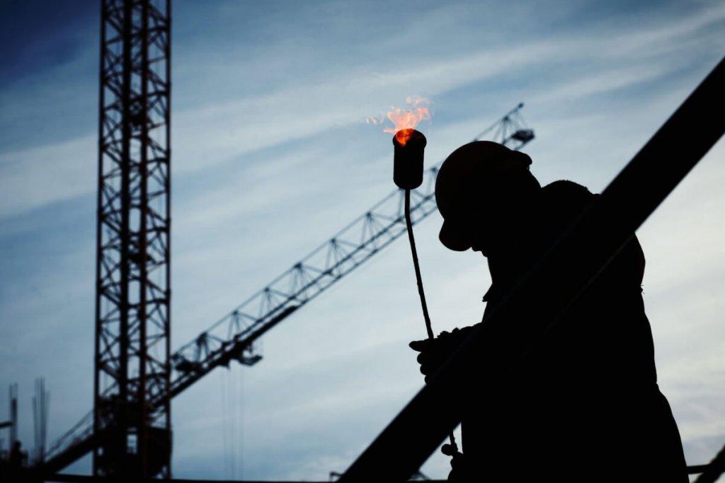 technicien gaz sur chantier